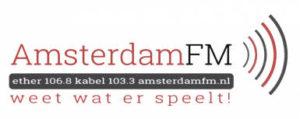 Interview Justine Mol op radio Amsterdam FM