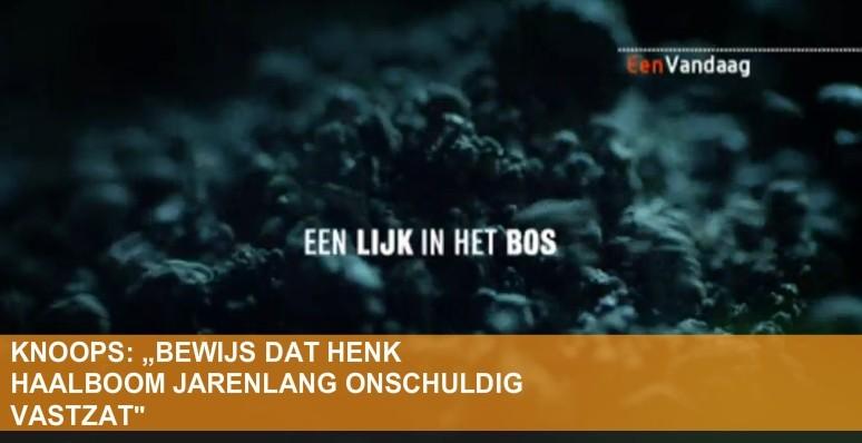 Uitzending EenVandaag Henk Haalboom